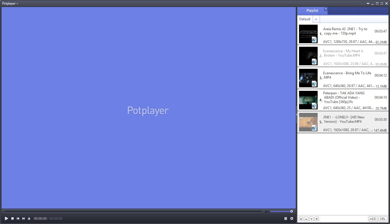 Daum PotPlayer screenshot 0