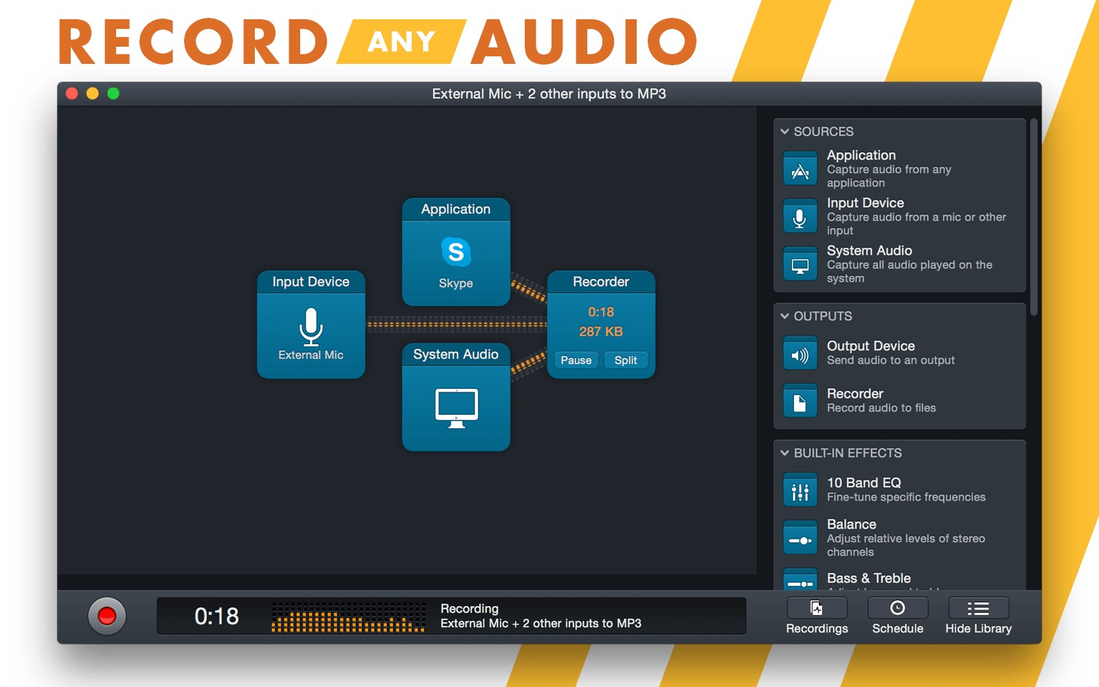 Audio Hijack screenshot 1