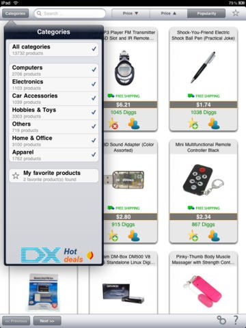 DealExtreme screenshot 1