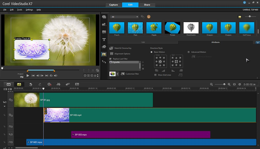 Corel VideoStudio screenshot 2