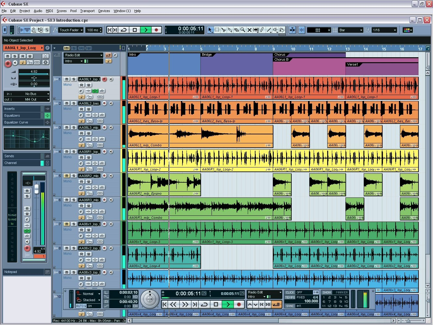 Cubase screenshot 2