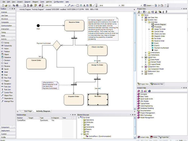 Enterprise Architect screenshot 2