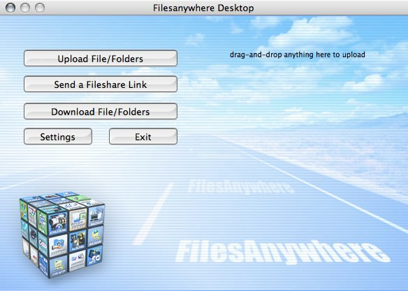 FilesAnywhere screenshot 2