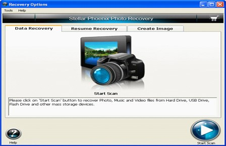 Stellar Phoenix Photo Recovery screenshot 0
