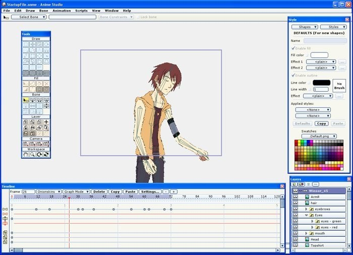 Anime Studio screenshot 0