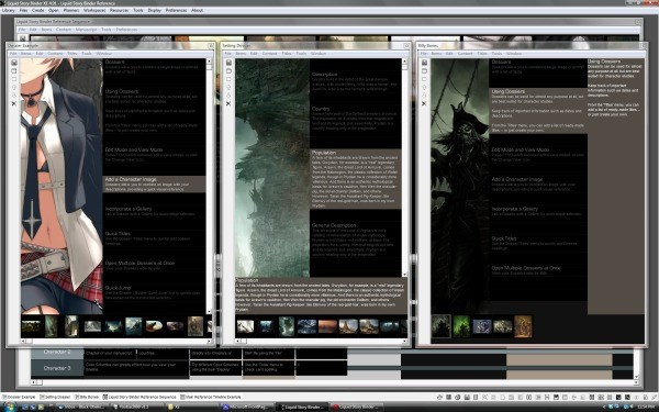 Liquid Story Binder XE screenshot 0