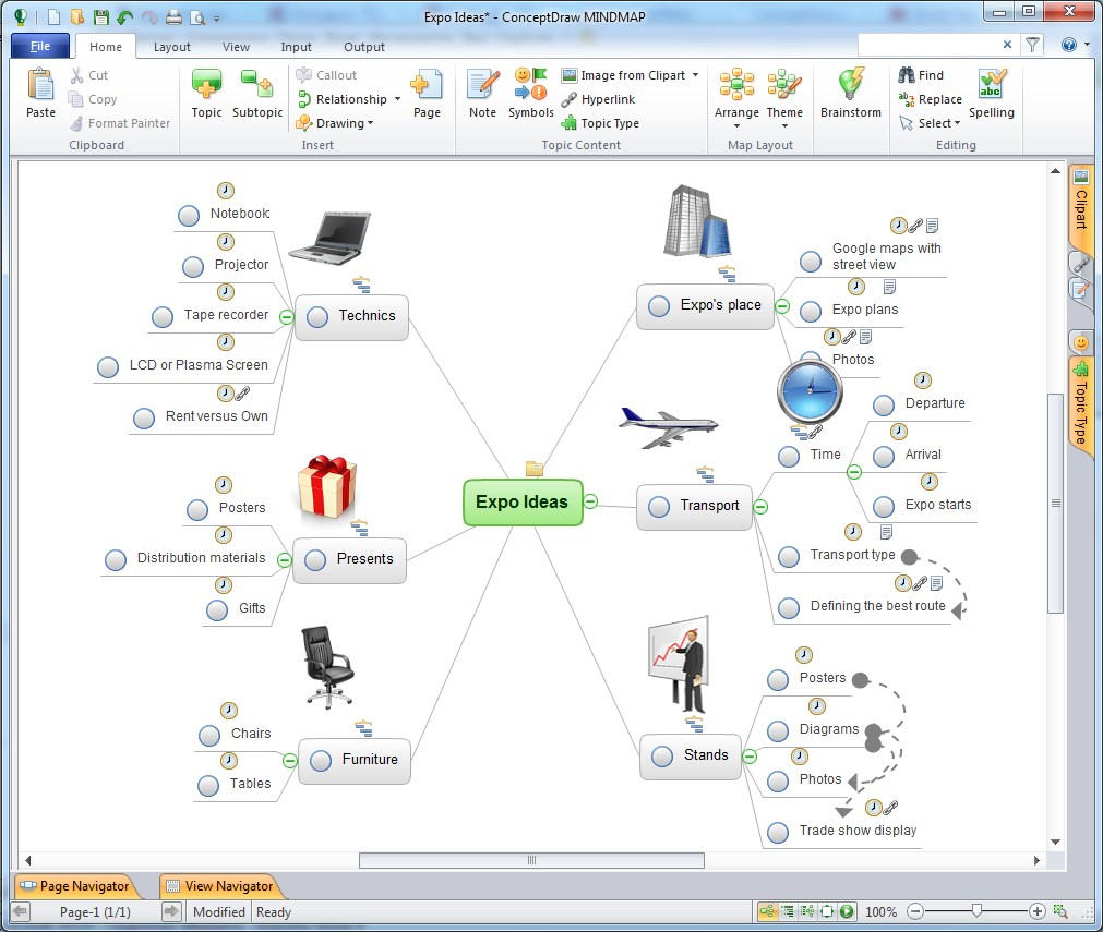 ConceptDraw MindMap screenshot 0