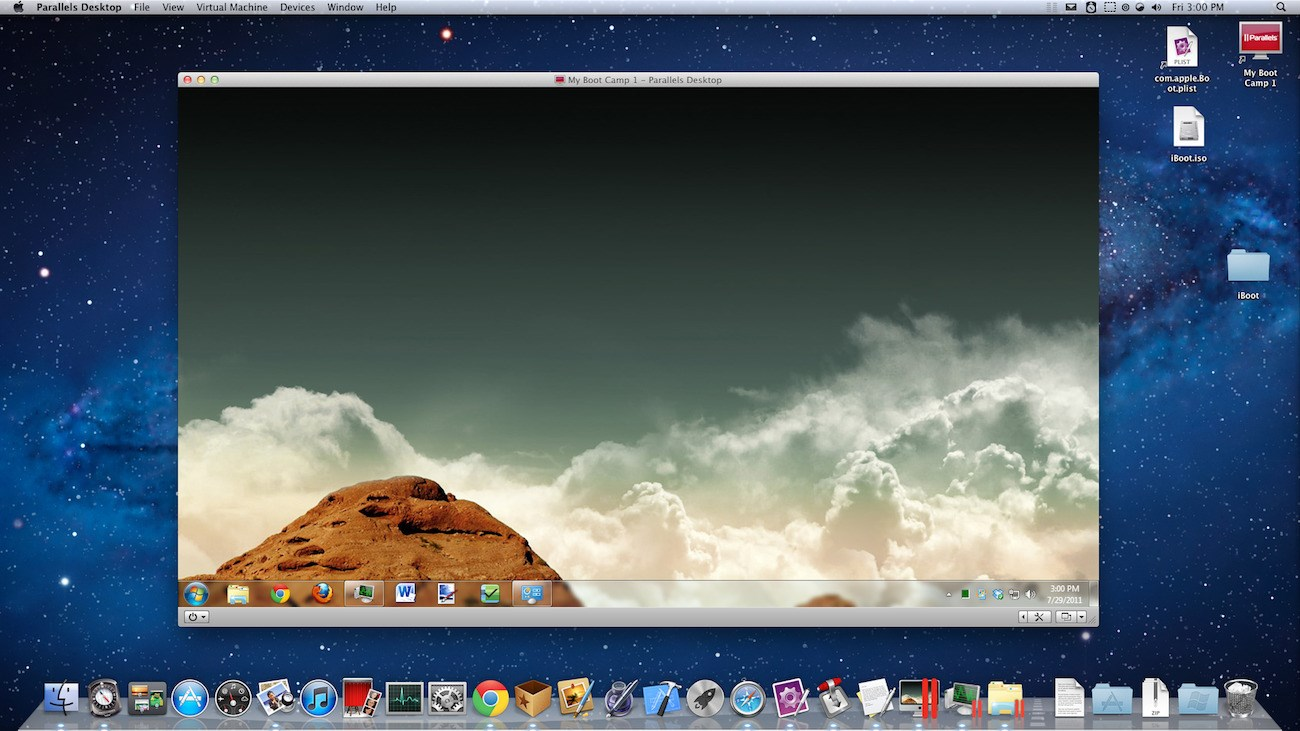 Parallels Desktop screenshot 0