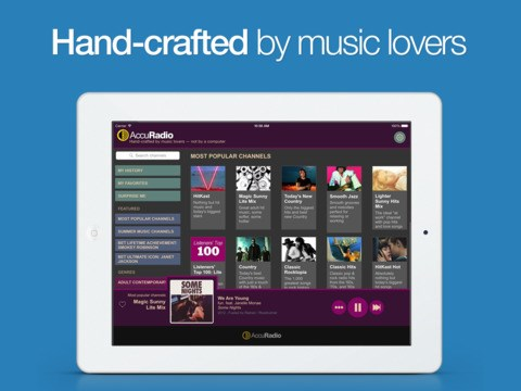 AccuRadio screenshot 0