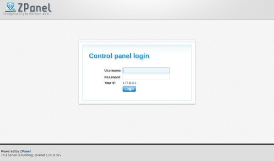 ZPanel screenshot 0