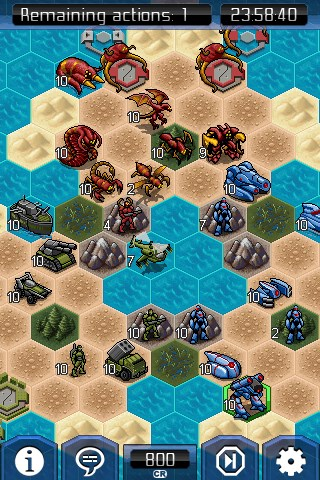 UniWar screenshot 2