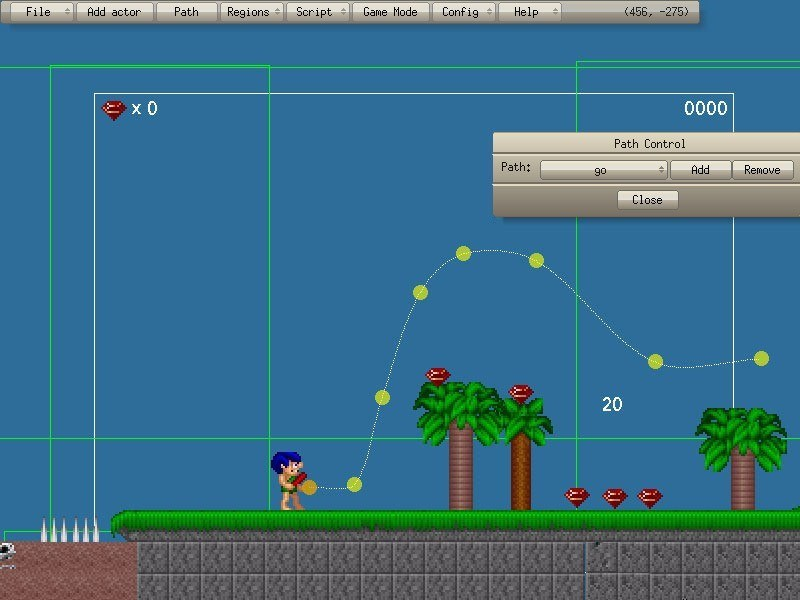 Game Editor screenshot 1