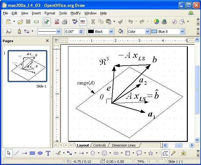 Apache OpenOffice Draw screenshot 2