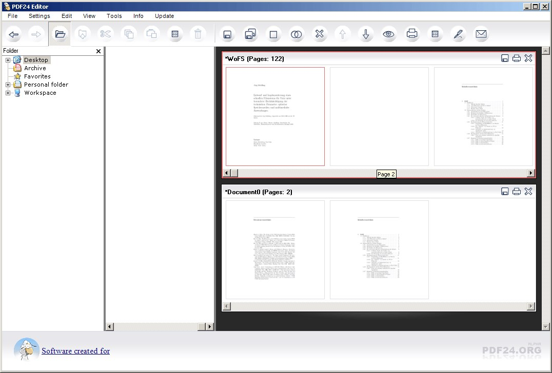 PDF24 PDF Creator screenshot 0