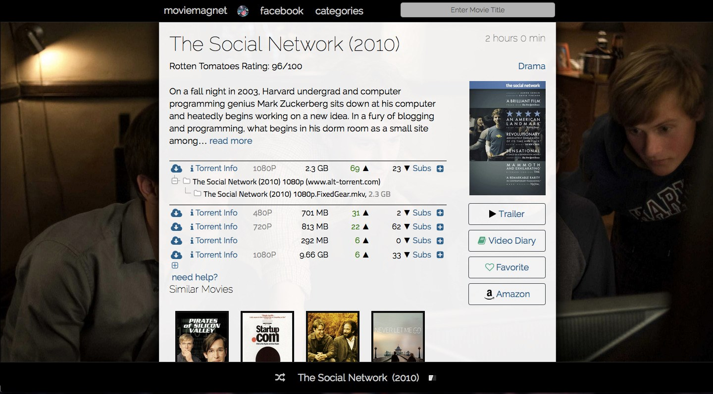 moviemagnet.co screenshot 1