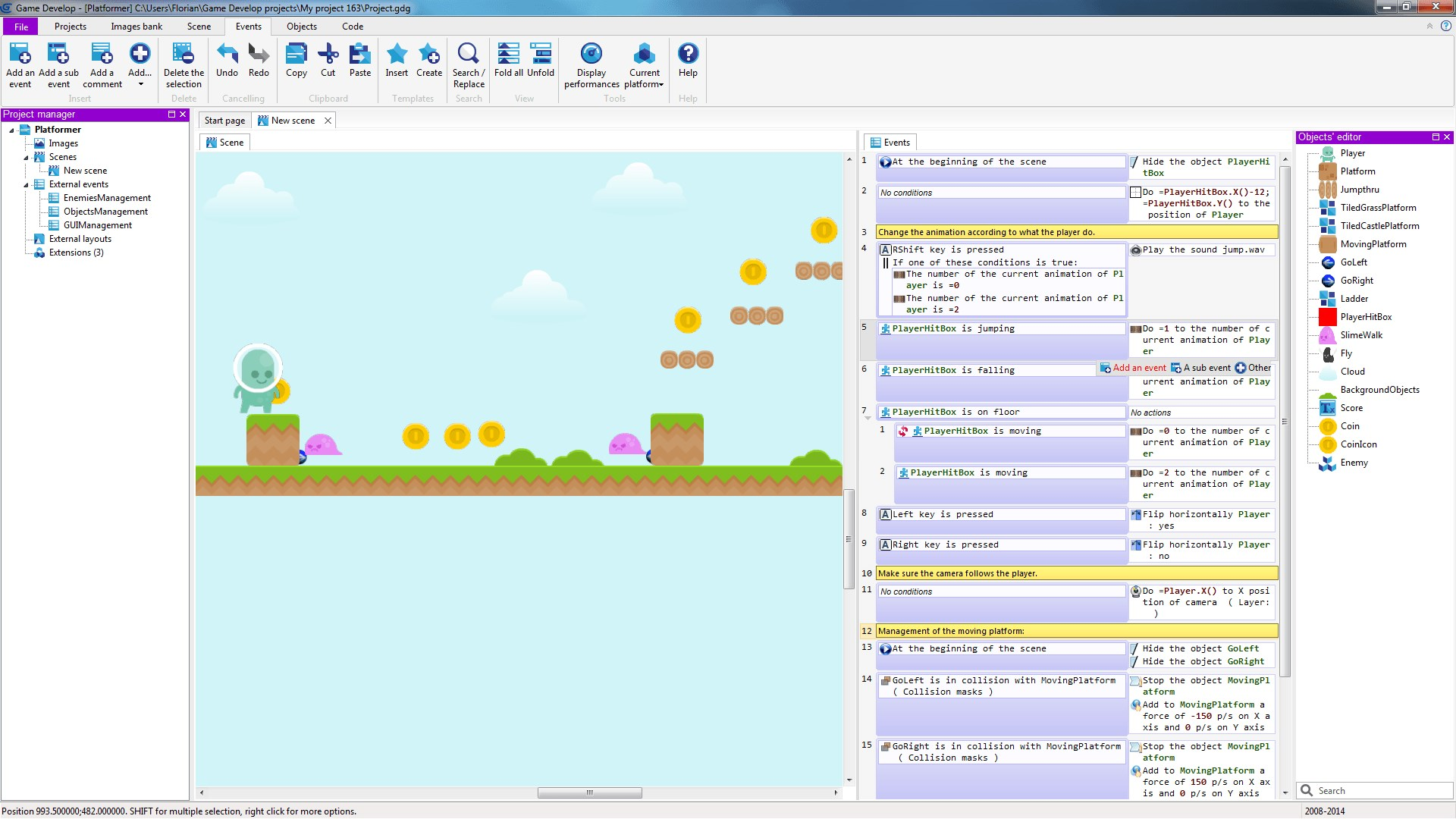 GDevelop screenshot 0