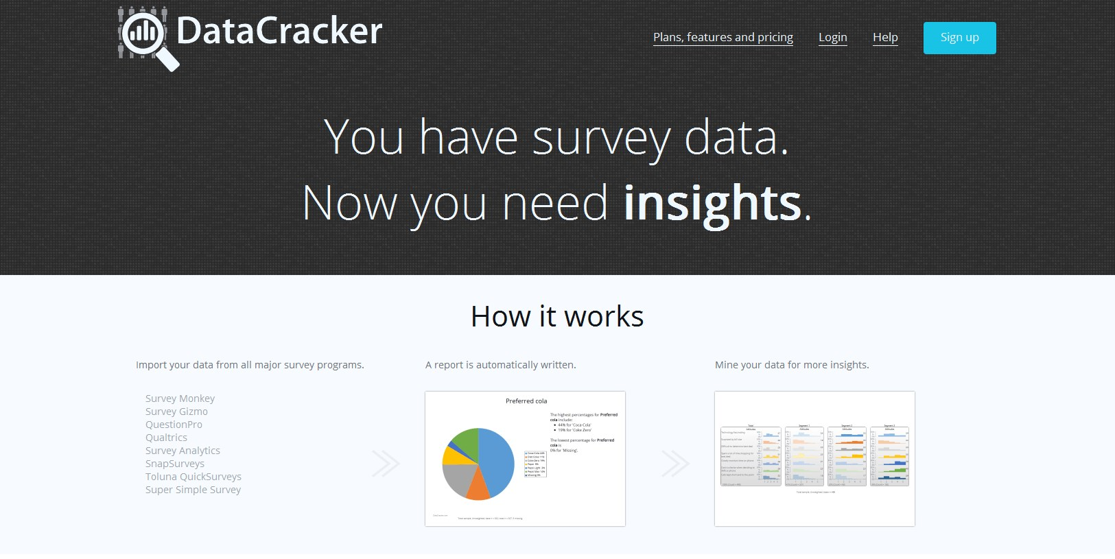 DataCracker screenshot 0