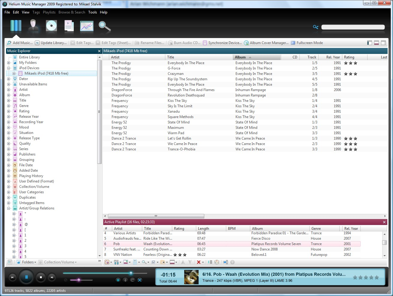 Helium Music Manager screenshot 2