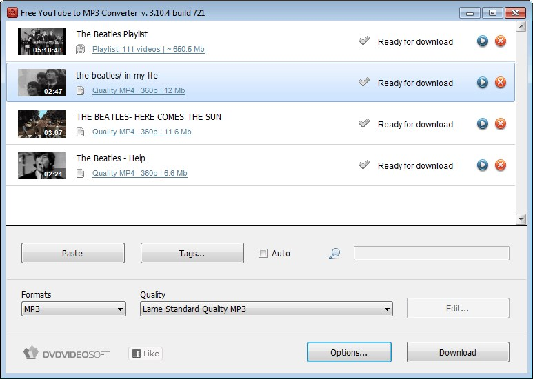 Free YouTube to MP3 Converter screenshot 2